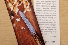 Selling: The Whistling & Whittling Brigade Book Mark Pack of 10