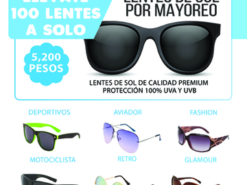9ba51d93c6 LENTES DE SOL - Mayoreo Click