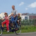 Tandemverleih: Miete ein Familien Tandem  in Berlin incl. Hollandrad