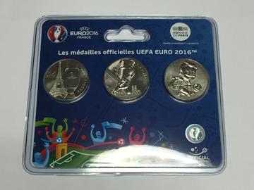 Vente: Pièces et médailles officielles EUFA EURO 2016
