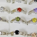 Sell: (300) Cubic Zirconia Rings Wholesale Fashion Jewelry
