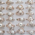 Sell: (300) Women Wholesale Fashion Jewelries Simulated Pearl Ring