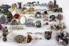 Selling: (1047) Wholesale Mixed Stylish Rings Women Fashion Jewelries