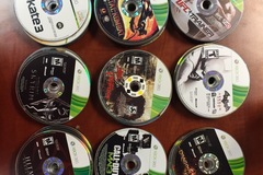 Sell: 100 Miscrosoft XBOX 360 Games, Disc Only