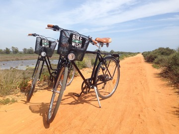 To book: Bike tour Ria Formosa