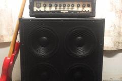Renting gear: Behringer Ultrabass Bass rig