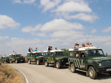To experience: Jeep Tour - Baixo Guadiana