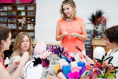 Per Person: Luxury Hat Making Hen Party