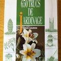 Vente: 650 trucs de jardinage