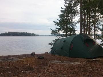 Vuokrataan (yö): Fjällräven Akka R/S 3