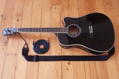 Renting gear: Aria electro-acoustic guitar