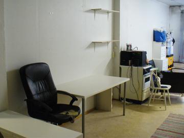 Renting out: Työpöytäpaikka vapaana