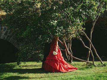 Ilmoitus: Cymbeline punainen hääpuku 2012
