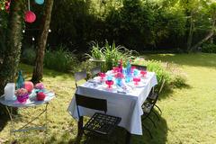 Offres: Grand jardin dans un petit village convivial proche Paris