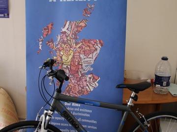 Renting out: Edinburgh Tesco Men Hybrid Bike