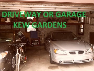 Monthly Rentals (Owner approval required): New York NY, Driveway/Garage Rental for Car & Bikes, Cameras