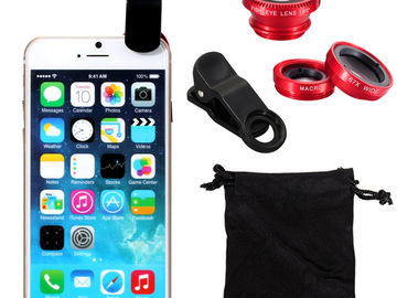 Buy Now: 100 X 3 in 1 Fish lens Kit for iPhone 7 8 X Xs Xr Xs Max