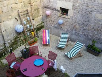 NOS JARDINS A LOUER: Jardin en centre ville de Caen