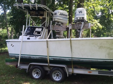 Selling: 1992 26' Seacraft