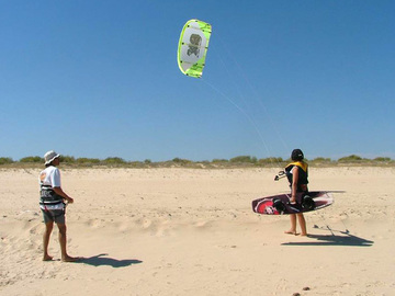To buy: Kitesurf experience