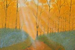 Selling: Where the Spirit Lives - Original modern forest landscape mi