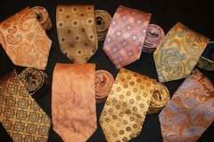 Buy Now: 200 Designer Neckties Name Brand Ties Neckwear Mens Silk