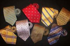 Buy Now: 50 Designer Neckties Name Brand Ties Neckwear Mens Silk