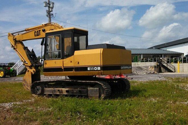 Preview Caterpillar E110B GA Savannah Renting - XSCapacity
