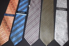 Liquidation Lot: 25 Designer Neckties Name Brand Ties Neckwear  FREE SHIPPING