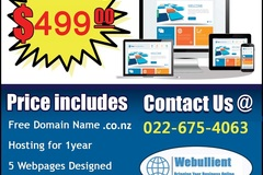 Offering : Business Website Designing from $499