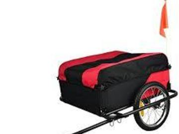 Renting out: Skiiddii covered bike trailer