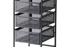Myydään: Basket drawer unit
