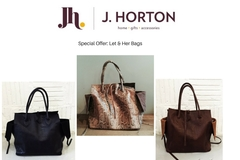 Offers: J.Horton: Special Offer, Let & Her Bags
