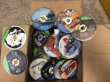 Sell: Lot of 75 video games for Playstation 4, XBOX ONE, and Wii U