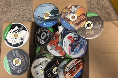 Bulk Lot: Lot of 75 video games for Playstation 4, XBOX ONE, and Wii U