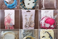 Sell: 200 Pairs of Fashion Earrings - Mixed Styles & Retail Ready!