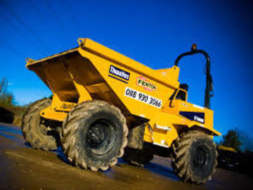 Daily Equipment Rental: Thwaites 6Te Dumper