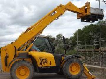 Daily Equipment Rental: JCB Telehandler