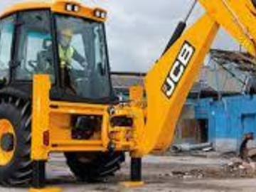 Daily Equipment Rental: 2012 JCB Back Hoe loader