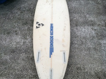 "For Rent: Rincon Designs 5'11"" High Performance Thruster"