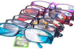 Selling: 300 WHOLESALE READERS AND SUNGLASSES MIX (RET. VALUE $2,697)