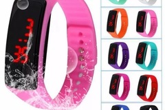 Selling: (50) Sports LED watches mixed