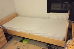 Myydään: moving out sale. bed + matress