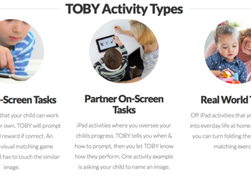 Selling: TOBY Autism Therapy (Therapy Outcomes By You)