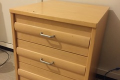 Myydään: moving out sale. drawer