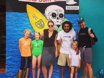 Renting out: Alex's Surf Shop