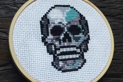Selling: Skull Cross Stitch Kit