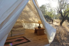 Accommodation: Camping for climbers Datca, Turkey