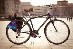 Renting out: City Bike Trek Allant Male frame