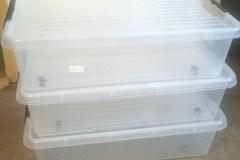 Myydään: 3 storage boxes (Säilytyslaatikko)